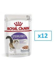 Royal Canin Sterilised paštetas 12 X 85 g