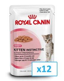 Royal Canin Kitten Instinctive padaže 85 g X 12