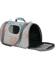 Zolux kelioninis krepšys Flower mažas pilkas