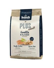 BOSCH Plus su upėtakiu ir bulvėmis 1 kg