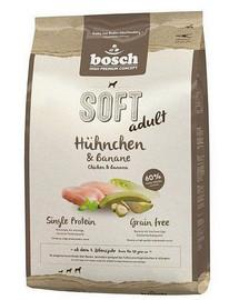 BOSCH Plus su vištiena ir bananais 2,5 kg