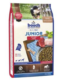 Bosch Junior Lamb&Rice su ėriena ir ryžiais 3 kg