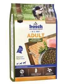 Bosch Adult su paukštiena ir soromis 3 kg