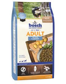 Bosch Fish&Potato su žuvimi ir bulvėmis 1 kg