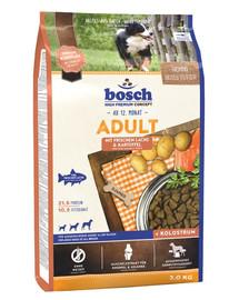 Bosch Adult Salmon&Potato su lašiša ir bulvėmis3 kg
