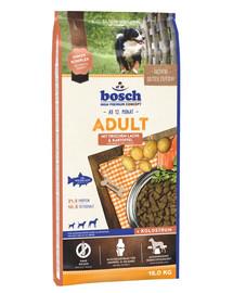 Bosch Adult Salmon&Potato su lašiša ir bulvėmis 15 kg