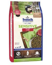 Bosch Sensitive Lamb&Rice su ėriena ir ryžiais 1 kg