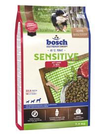 Bosch Sensitive Lamb&Rice su ėriena ir ryžiais 3 kg