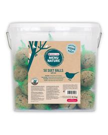 VERSELE-LAGA 50 riebalų rutuliukų 4,5 kg plastikiniame kibire