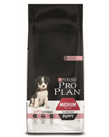 Purina Pro Plan Medium Puppy Sensitive Skin 12 kg