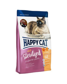 HAPPY CAT Supreme Adult Sterilised su lašiša 1,4 kg