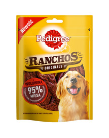 PEDIGREE Ranchos Originals skanėstas šunims su jautiena 70 g