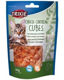 Trixie Premio Cheese Chicken Cubes skanėstai 50 g
