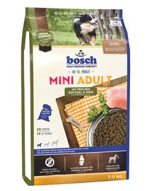 Bosch Mini Adult su paukštiena ir soromis 3 kg