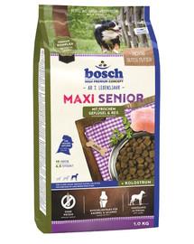 Bosch Maxi Senior su paukštiena ir ryžiais 1 kg
