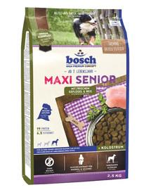 Bosch Maxi Senior su paukštiena ir ryžiais 2,5 kg