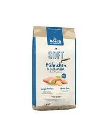 BOSCH Soft Junior su vištiena ir saldžiosiomis bulvėmis 2.5 kg