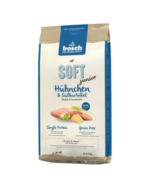BOSCH Soft junior Chicken and sweet potatoes 12,5 kg