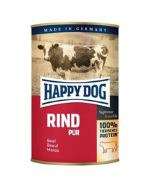 Happy Dog Rind Pur konservai šunims su jautiena 400 g