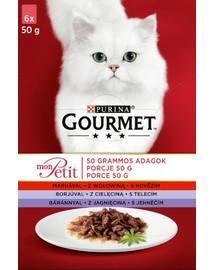 GOURMET Mon Petit Mėsos mišinys (6x50 g)