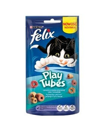 FELIX Play Tubes žuvis ir krevetės 50 g