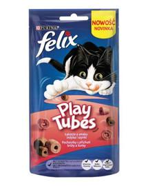 FELIX Play Tubes kalakutas ir kumpis 50 g