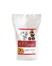 O'CANIS šunų maistas su jautiena5 kg
