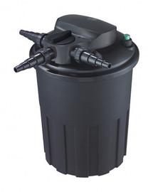 AQUA NOVA slėginis filtras su BACKFLUSH savaiminio išsivalymo sistema, UV 24W, filtruoja 15000 l