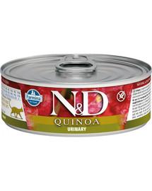 N&D Cat Quinoa Urinary konservai 80 g
