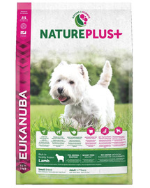Eukanuba Nature Plus+ Adult Small Breed Rich In Freshly Frozen Lamb 10 kg