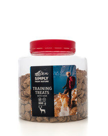 SIMPLY FROM NATURE Training Treats with deer skanėstai treniruotėms su elniena 300 g