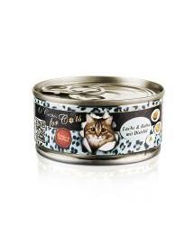 O'CANIS konservai katėms su lašiša ir saulėgrąžų aliejumi 100 g