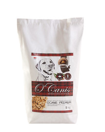 O'CANIS šunų maistas su šerniena 5 kg