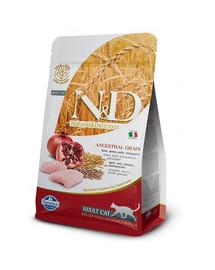 N&D Low Grain Chicken & Pomegranate Adult Cat 5 kg