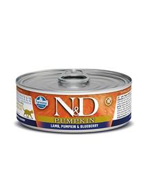 N&D Cat Lamb & Pumpkin & Blueberry konservai 80 g