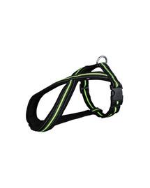 Trixie petnešos Fusion s 35–50 cm / 23 mm juodas / žalios