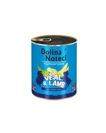 DOLINA NOTECI Premium SuperFood su veršiena ir ėriena 6 x 400 g