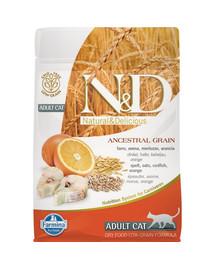 FARMINA N&D Low Grain Fish & Orange Adult Cat 5 kg