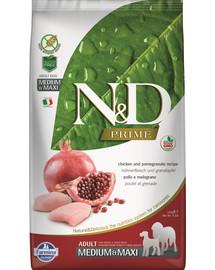 FARMINA N&D Prime Dog Adult Medium & Maxi Chicken & Pomegranate 2,5 kg