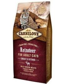 CARNILOVE Cat Energy & Outdoor Renifer 2 kg