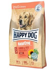 HAPPY DOG NaturCroq Salmon & Rice 12 kg