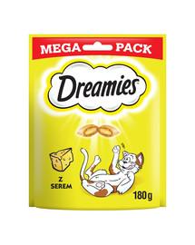 Dreamies Mega su sūriu 4 X 180 g