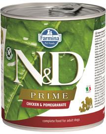 FARMINA N&D Prime Dog Chicken & Pomegranate konservai 285 g