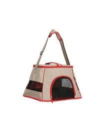ZOLUX HAPPY CAT 440x320x290 transportavimo krepšys šviesiai rudas - raudonas