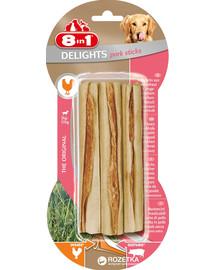 8IN1 Skanėstas Pork Delights Bone Sticks 3 vnt.