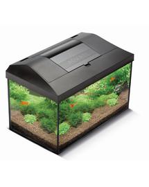 AQUAEL Akvariumo rinkinys Leddy Pap 60 LED