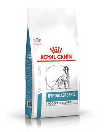 ROYAL CANIN Dog hypoallergenic moderate energy 14 kg
