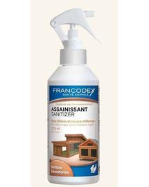 FRANCODEX Dezinfekuojanti ir gaivinanti priemonė gyvūnų tuoaletams ir  narvams 500 ml