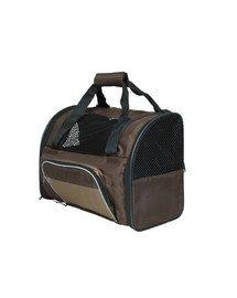 Trixie kelioninė kuprinė-krepšys šuniui ruda-smėlinė