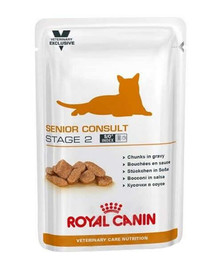 ROYAL CANIN Cat senior consult stage 2 konservai 100 g